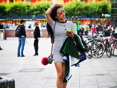 (graveur8x) Tags: woman candid street portrait asian frankfurt germany deutschland streetphotography strase colours sunglasses cool dof summer hot people city olympus olympusem10markii olympusm45mmf18 45mm microfourthirds m43