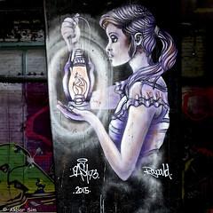 Rotterdam graffiti/street art : EASY 173 (Akbar Sim) Tags: holland nederland netherlands graffiti akbarsim akbarsimonse rotterdam ferrodome streetart easy173