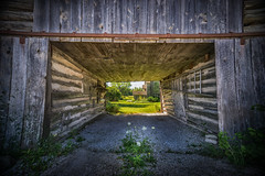 What lies beyond,,,, (petec1113) Tags: barn gardens doorcounty old sonya7 wisconsin baileysharbor backroads