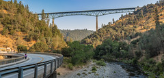 RHM_3756-Pano.jpg (RHMImages) Tags: auburnstatepark morning americanriver landscape bridge water panorama foresthill northfork d810 auburn nikon california unitedstates us
