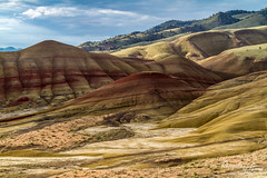 Painted Hills, Oregon5 (KeithCrabtree1) Tags: sunrise oregon spring park landscape paintedhills johndayfossilbeds 2016p2