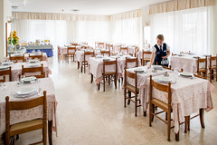 Sala pranzo  027 (Hotel Curtis Centrale) Tags: alassio ristorante colazione