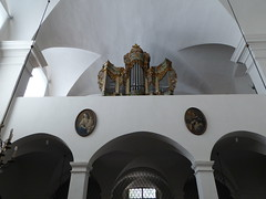 Adelhauser Klosterkirche (thomaslion1208) Tags: freiburg freiburgeraltstadt adelhauserkloster kloster kirche church kerk cathetral orgel