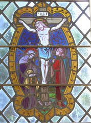 Crucifixion (Granpic) Tags: kent kentchurch eynsford stmartineynsford stainedglass vitrail vidreriadecolores crucifixion