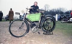 Johnsen Motorcycle Reg: BE 162 (bertie's world) Tags: sunbeam pioneer run 1979 epsomdowns motorcycles johnsen motorcycle reg be162