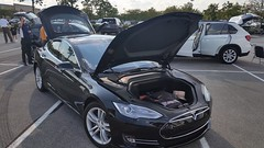 The Tesla Frunk (TNCleanFuels) Tags: 2016 national drive electric week knoxville tn tennessee east clean fuels coalition volunteers keva vehicle association turkey creek eric cardwell jonathan overly melissa goldberg hybrid plug ev pev phev plugin etcleanfuels test learn gas petroleum cities