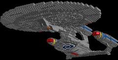 Galaxy Class Dreadnought 0.1s=m: Phaser Cannon (picardsbricks) Tags: lego startrek galaxyclass ussenterprise d jeanlucpicard thenextgeneration