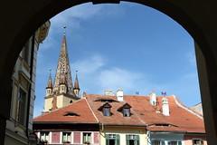 Beautiful Sibiu (Alan1954) Tags: sibiu transylvania romania holiday church chrictian framing 2015