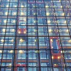 weave #4 bowellism (sometimes symbolic) Tags: bowellism leadenhall building london city skyscrapper tall buildings lifts lights beams blue orange