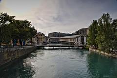 IMG_0046 (laurent_s) Tags: genve geneva switzerland suisse paysage rhne seujet btimentdesforcesmotrices bfm