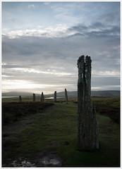 _R050867ed (alexcarnes) Tags: ring brodgar brogar henge stone circle bronze age prehistoric alex carnes alexcarnes ricoh gr