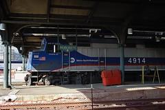 4914-Hoboken-NJ-14-9-2016 (D1021) Tags: metronorthrailroad emd f40ph f40 f40ph3c 4914 njt njtransit newjerseytransit loco locomotive railroad america usa hoboken hobokenstation newjersey nj newyork