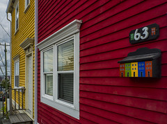 Signal Hill colours (marianna_away for a while) Tags: stjohns newfoundland street houses colour color bright cheerful perspective urban canada canadian mariannaarmata