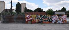 Death of dishonor (HBA_JIJO) Tags: streetart urban graffiti art france hbajijo wall mur painting letters peinture lask lettrage twecrew lettres lettring street writer celebrity paris93 spray twe cinema brucelee star idol view killbill umathurman