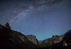 Andromeda ascending (Justin Cameron) Tags: galaxy 24mm milkyway starscape roadtrip canon5dmkiii 2016 samyang24mmf14edasumc longexposure yosemite yosemitevalley airglow stars westcoast california america elcapitan andromeda canon