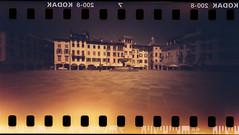 Udine dopo una tempesta solare :) (danielesandri) Tags: udine pinhole forostenopeico tina135 redscale kodak pellicola film