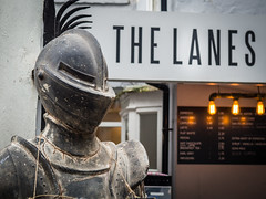 Coffee armour (dodgyhoodoo) Tags: thelanes armour 2016andrewohara coffeeshop brighton allrightsreserved