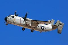 "162173 C-2A Greyhound - RW 24 / VRC-30 ""Providers"" - NAS North Island, CA (David Skeggs) Tags: aircraft aeroplane airplane military militaryaircraft elcentro navy usn usnavy davidskeggs avgeek c2 greyhound cod vrc30 providers"