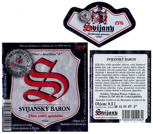 Svijanský baron 15°, Svijany, 2016