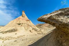 Ola de piedra (avistaderender) Tags: bardenas reales naturaleza paisaje nature landscape desierto desert castildetierra