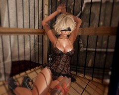 I am woman (Bondibabe) Tags: tattoomania maitreya catwa 7 deadly s{k}ins umbral submissive bilndfold lingerie arisarisbw reign