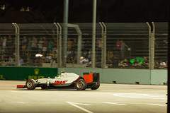 Esteban Gutirrez, Singapore Grand Prix 2016 (tik_tok) Tags: estebangutirrez haas singapore nightrace f1 formula1 formulaone grandprix racing cars motorsport marinabaystreetcircuit 2016 freepractice