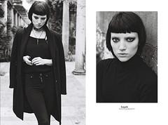 Jordan (bayek photography) Tags: nikon f3 bw fashion portrait onfilm ishootfilm nikonf3 trix400 london moody outdoors fbloggers 35mm