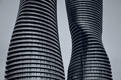 The Marilyns 3 (JeffStewartPhotos) Tags: blackandwhite bw ontario canada building marilyn architecture buildings blackwhite curves curvy condo condos mississauga toned condominium condominiums residences marilyns curvey absoluteworld themarilyns yansongma absoluteworldtowers