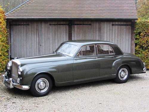 Bentley S1 Continental Flying Spur by James Young (1958).
