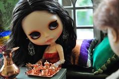 Conversa - 2380 - (MUSSE2009) Tags: toys doll mohair blythe custom zade árabe scheherazade