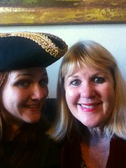 Emily's mom and I!