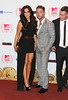 Vicky Pattison, and Gaz Beadle of Geordie Shore The MTV EMA's 2012 held at Festhalle - press room Frankfurt, Germany