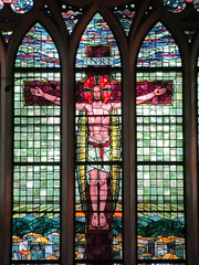 St John's Cathedral, Central, Hong Kong (wilwilwilsonsonson) Tags: church cathedral stainedglass crucifix stainedglasswindow crucifixion stjohnscathedral  anglicanchurch