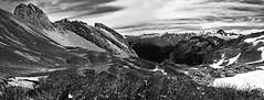 Pointe du Midi - Lac de Peyre - Mont blanc (kevin_delajoud) Tags: montagne la lac neige pointe savoie midi mont blanc haute peyre