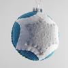 blue-white-gray star ornament (eleni creative) Tags: christmas kids children holidays hand creative sew felt plush made ornament etsy eleni stitched sewn
