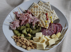 (Mau Unique) Tags: chile santiago food cheese mani queso peanut snacks jam jamon salame galletas pepinillos picoteo mondadientes crakelet