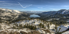 rewarding detour | donner pass, ca (elmofoto) Tags: california road trees lake snow mountains nature northerncalifornia landscape nikon fav50 s fav20 condensation norcal chemtrail sierranevada fav30 hdr vistapoint donnerlake donnerpass d800 windingroad fav10 fav100 fav200 fav40 fav60 fav90 fav80 fav70 25000v nikond800 elmofoto lorenzomontezemolo forcurators wwwelmofotocom flickrmarketplace flickrlicensing