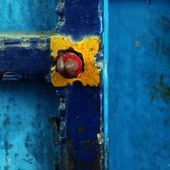 Blue door details,... (Zé Eduardo...) Tags: door blue india architecture temple asia details pondicherry artlegacy