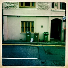 High street bins (Big*Al*Davies) Tags: bigaldavies iphone hipstamatic