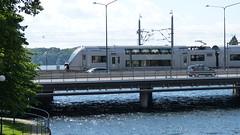 SJ X40 double decker train (Miradortigre) Tags: sea station train tren sweden stockholm swedish estacion scandinavia bahn treno estocolmo suecia svenska tukholma banhof 火車 列車 escandinavia поезд गाड़ी