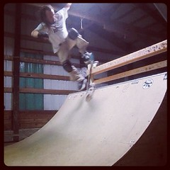 "ollie to 5-0 stall #skateboard #skateboarding #skateeverydamnday #halfpipe #barn • <a style=""font-size:0.8em;"" href=""http://www.flickr.com/photos/99295536@N00/8204978752/"" target=""_blank"">View on Flickr</a>"