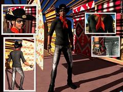 RED ROCK (Satine Rabeni & Casasreais Allen) Tags: outfit mesh free sombrero camiseta regalo pañuelo ydea dreamhorses regalodegrupo