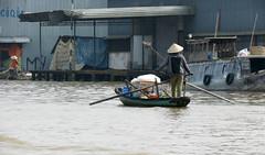 Excursion to Cai Rang floating market (Linda DV) Tags: travel food canon geotagged asia southeastasia culture vietnam mekongdelta mekong 2012 cantho geomapped cnth culturaltravel exploretheworld lindadevolder powershotsx40