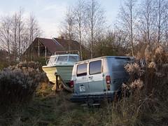 Godsvgen, Borlnge 2012 (Karl Gunnarsson) Tags: trees sunset boat sweden vegetation sverige van dalarna borlnge undergrowth em5 islingby panasonic20mmf17 godsvgen islingbyvgen
