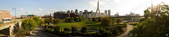 Boston Panorama (dkshots) Tags: park panorama boston skyline memorialbridge leonardpzakim zakimbunkerhillbridge tdgarden paulreverepark