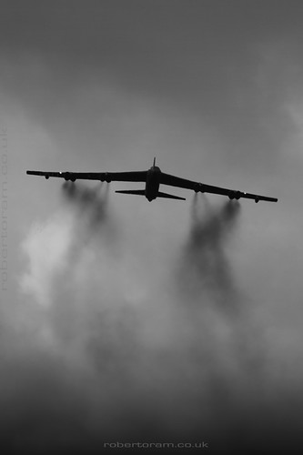 B-52 at Farnborough