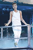 Justin Bieber performing in concert at Madison Square Garden New York City