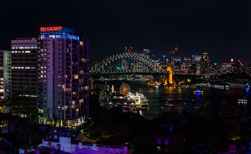 Sydney Harbour colours