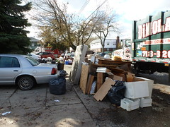 Bulk household waste removal after hurricane Sandy damage (The Trash it Man) Tags: hurricane cleanup howardbeach hurricanecleanup flooddamagecleanup hurricanesandy sandyaftermath