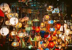 Grand Bazaar, Istanbul (miemo) Tags: travel autumn fall glass shopping lights asia europe decorative interior istanbul lanterns hanging lamps bazaar grandbazaar kapalıçarşı büyükçarşı